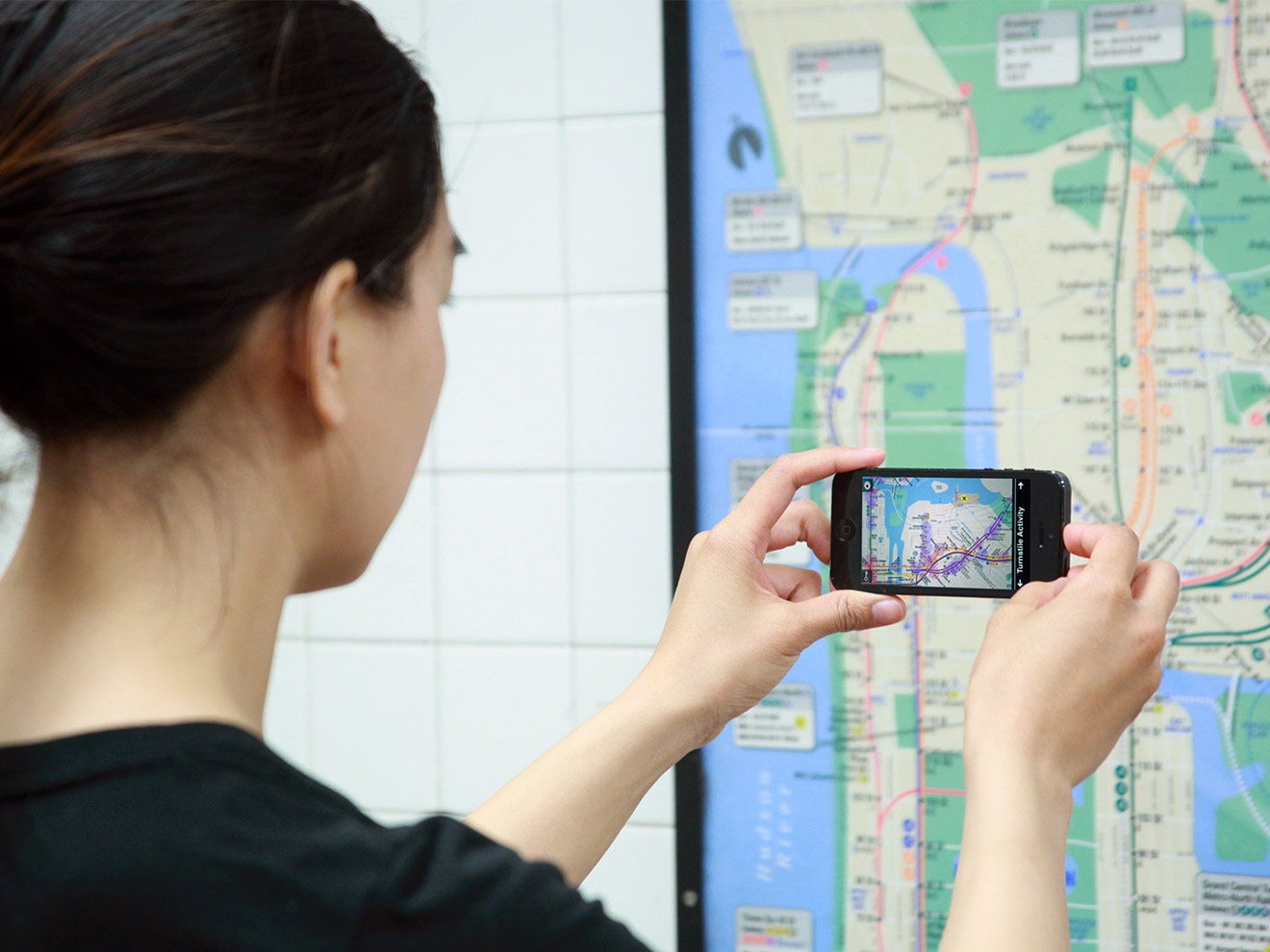 New York Subway Map Mobile.Tunnel Vision Nyc